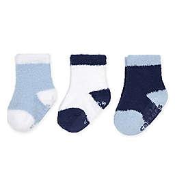 carter's® 3-Pack Chenille Socks in Blue