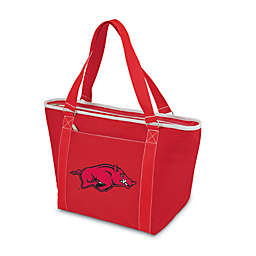 NCAA University of Arkansas Collegiate Topanga Cooler Tote in Red