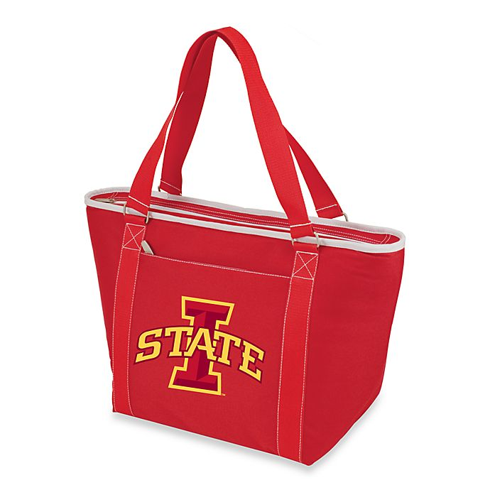 Alternate image 1 for Iowa State University Picnic Time® Collegiate Topanga Cooler Tote in Red