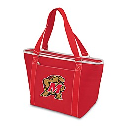 NCAA University of Maryland Collegiate Topanga Cooler Tote in Red