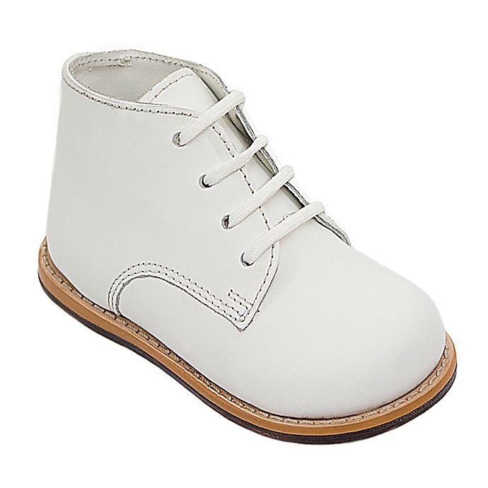 Alternate image 1 for Josmo® Boys' Leather Walk Shoe in White
