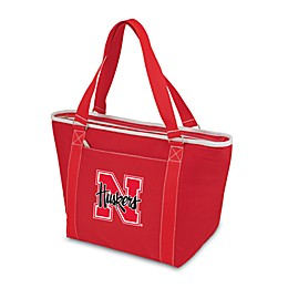 NCAA University of Nebraska Collegiate Topanga Cooler Tote in Red