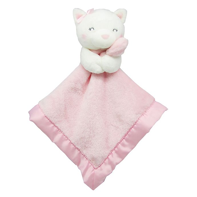 Alternate image 1 for carter's® Kitty Cuddle Plush Security Blanket