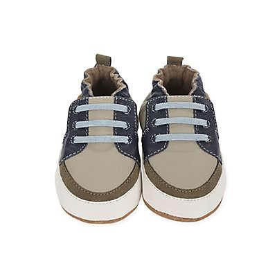 Robeez® Soft Soles Trendy Trainer Arthur Shoe in Grey