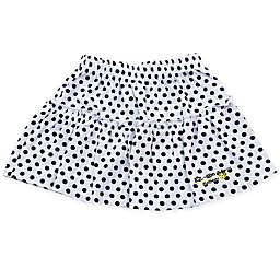 EZ-On BaBeez™ Dot Ruffled Skirt in Black/White