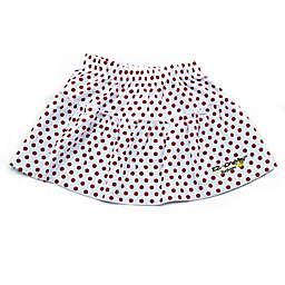 EZ-On BaBeez™ Red Dot Ruffled Skirt in White