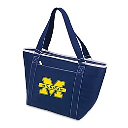 NCAA University of Michigan Collegiate Topanga Cooler Tote in Navy Blue