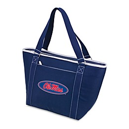 NCAA University of Mississippi Collegiate Topanga Cooler Tote in Navy Blue