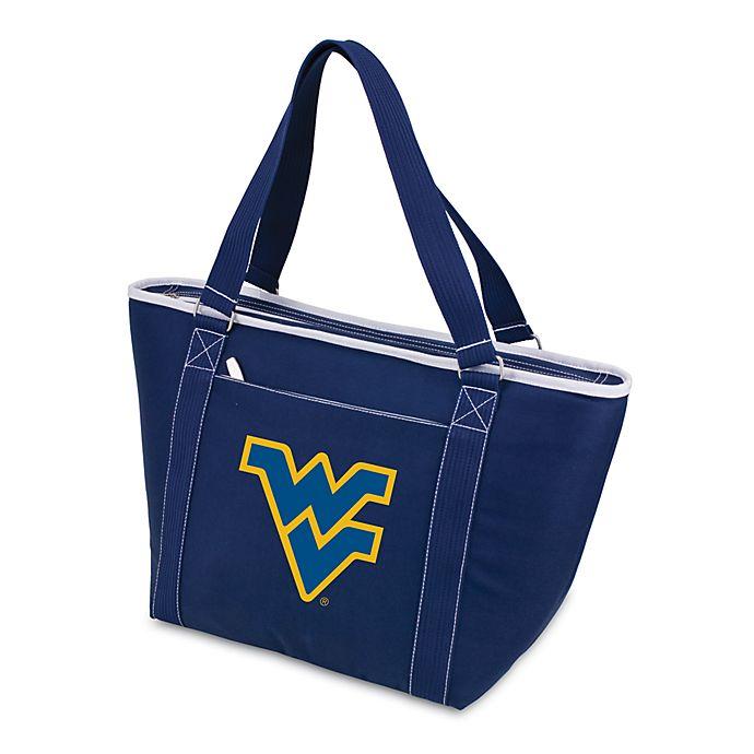 Alternate image 1 for NCAA West Virginia University Collegiate Topanga Cooler Tote in Navy Blue