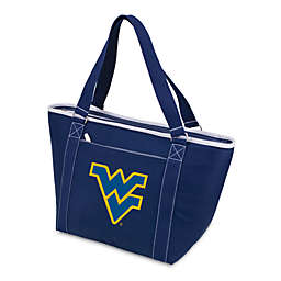 NCAA West Virginia University Collegiate Topanga Cooler Tote in Navy Blue