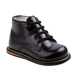 Josmo® Boys' Leather Walk Shoe in Black