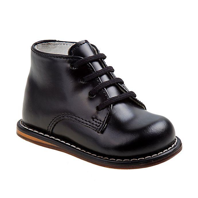 Alternate image 1 for Josmo® Boys' Leather Walk Shoe in Black