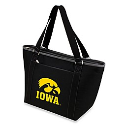 NCAA University of Iowa Collegiate Topanga Cooler Tote in Black
