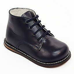 Josmo® Boys' Leather Walk Shoe in Navy