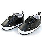 Rising Star™ Size 3-6M Gore Patch Shoe in Black
