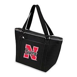 NCAA University of Nebraska Collegiate Topanga Cooler Tote in Black
