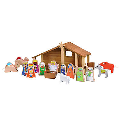 EverEarth™ 16-Piece Nativity Set with Figures