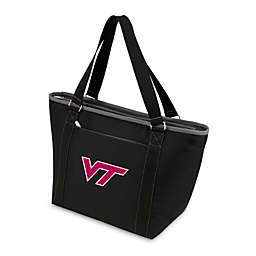 Picnic Time® Virginia Tech Collegiate Topanga Cooler Tote in Black