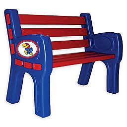 University of Kansas Outdoor Park Bench