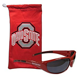 Ohio State University Sunglasses and Bag Set