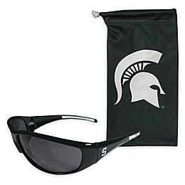 Michigan State University Sunglasses and Bag Set