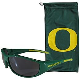 University of Oregon Sunglasses and Bag Set
