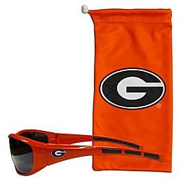 University of Georgia Sunglasses and Bag Set