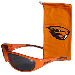 Oregon State University Sunglasses and Bag Set