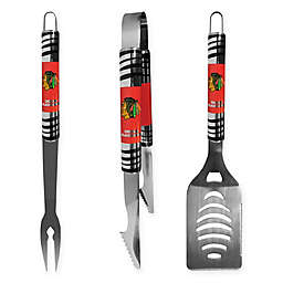 NHL 3-Piece Tailgater BBQ Grill Tool Set Collection