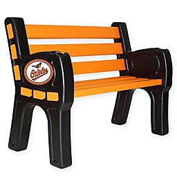 MLB Baltimore Orioles Outdoor Park Bench
