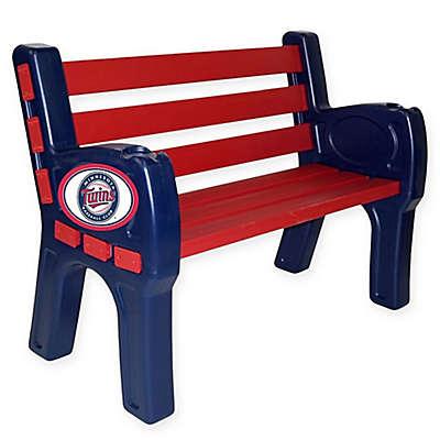 MLB Minnesota Twins Outdoor Park Bench
