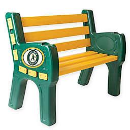 MLB Oakland Athletics Outdoor Park Bench