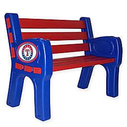 MLB Texas Rangers Outdoor Park Bench