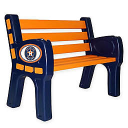 MLB Houston Astros Outdoor Park Bench