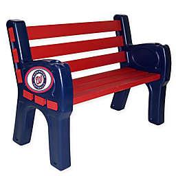 MLB Washington Nationals Outdoor Park Bench