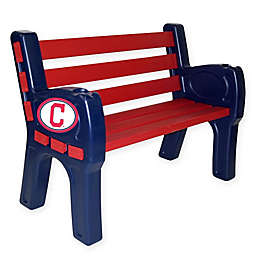 MLB Cleveland Indians Outdoor Park Bench