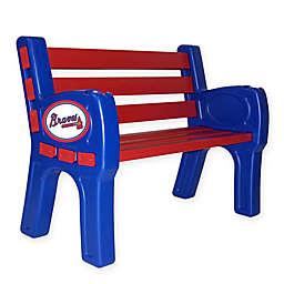 MLB Atlanta Braves Outdoor Park Bench