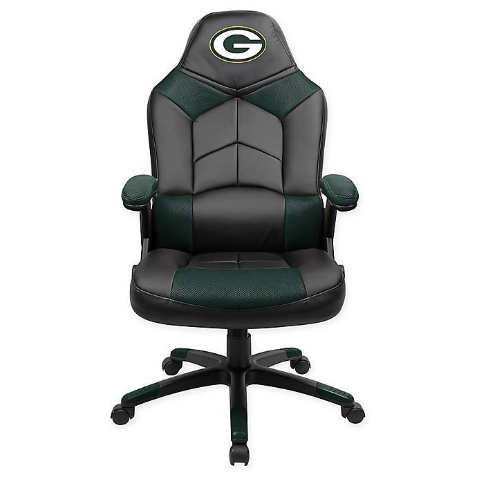 Terrific Nfl Green Bay Packers Oversized Gaming Chair Bed Bath Beyond Evergreenethics Interior Chair Design Evergreenethicsorg