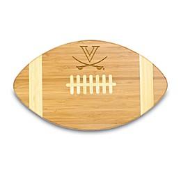 NCAA University of Virginia Touchdown! Bamboo Cutting Board