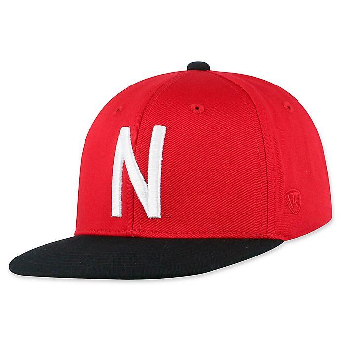 Alternate image 1 for University of Nebraska Maverick Youth Snapback Hat