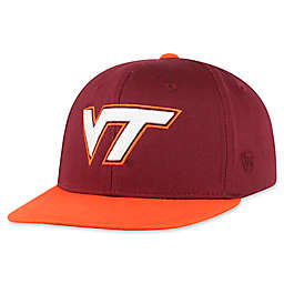 Virginia Tech University Maverick Youth Snapback Hat