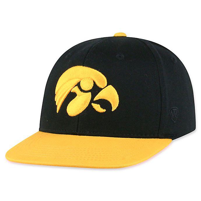 Alternate image 1 for University of Iowa Maverick Youth Snapback Hat