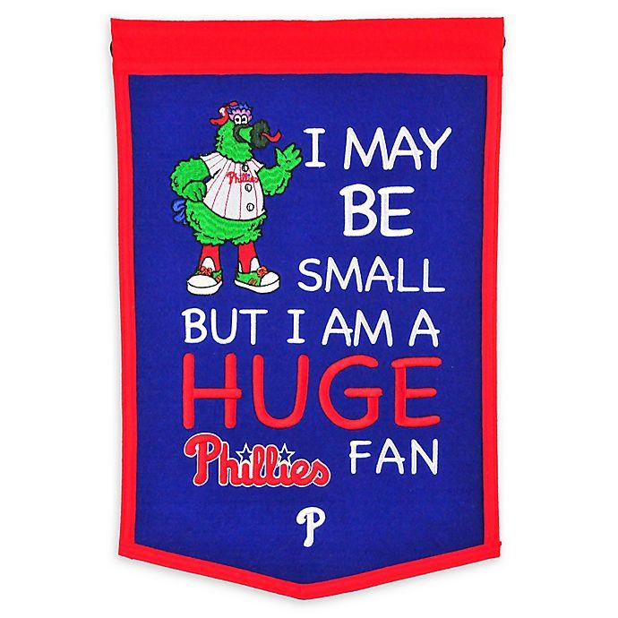 Alternate image 1 for MLB Philadelphia Phillies Lil Fan Traditions Banner