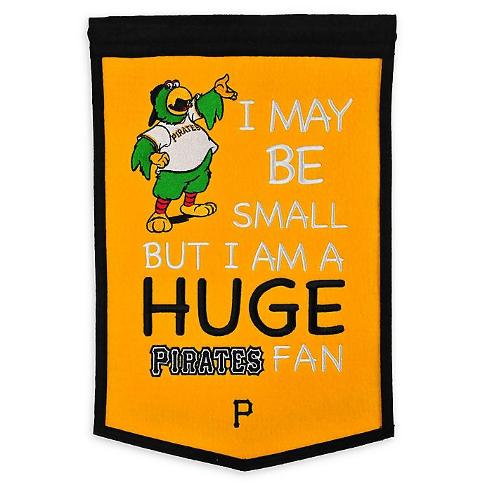 Alternate image 1 for MLB Pittsburgh Pirates Lil Fan Traditions Banner