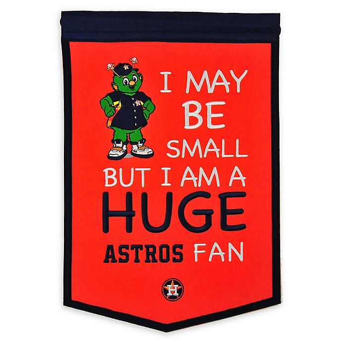 Alternate image 1 for MLB Houston Astros Lil Fan Traditions Banner