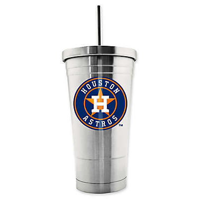 MLB Houston Astros 17 oz. Stainless Steel Travel Tumbler
