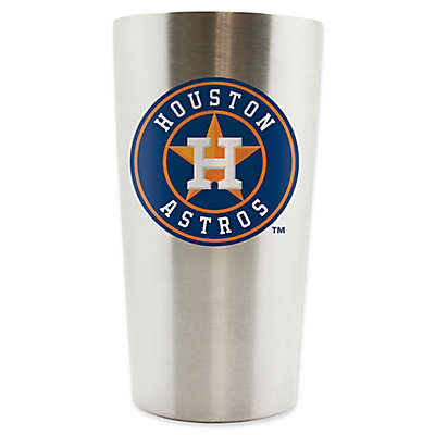 MLB Houston Astros 14 oz. Stainless Steel Travel Tumbler