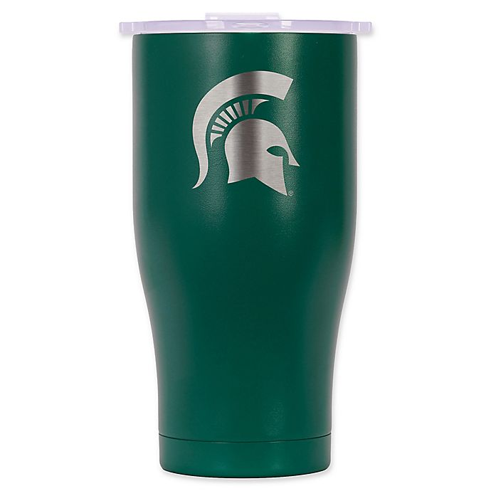 Alternate image 1 for ORCA® Michigan State University 27 oz. Chaser Tumbler in Green/White