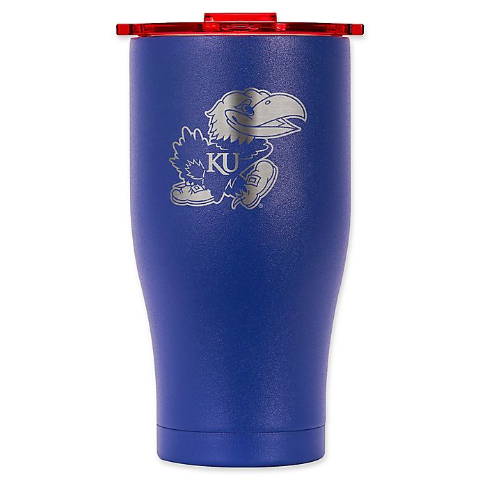 Alternate image 1 for ORCA® University of Kansas 27 oz. Chaser Tumbler in Blue/Red