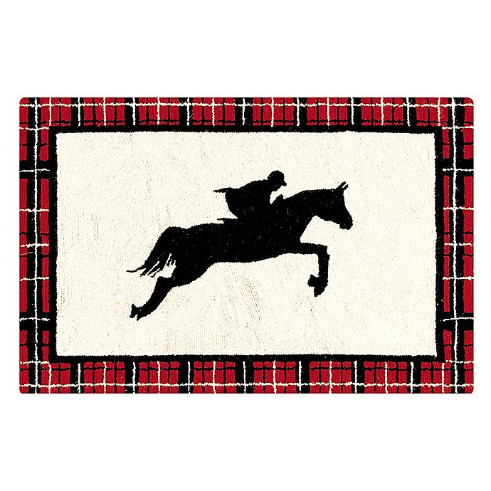 Alternate image 1 for C&F Home Equestrian 2' x 3' Accent Rug in White